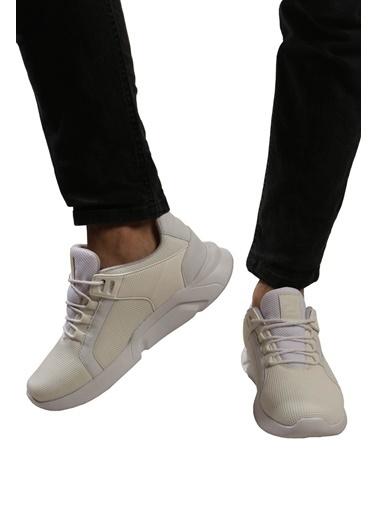 Derigo Siyah Siyah Erkek Spor Ayakkabı 703003 Beyaz